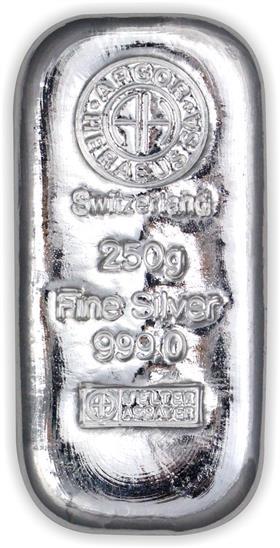 Stříbrný slitek 250 g