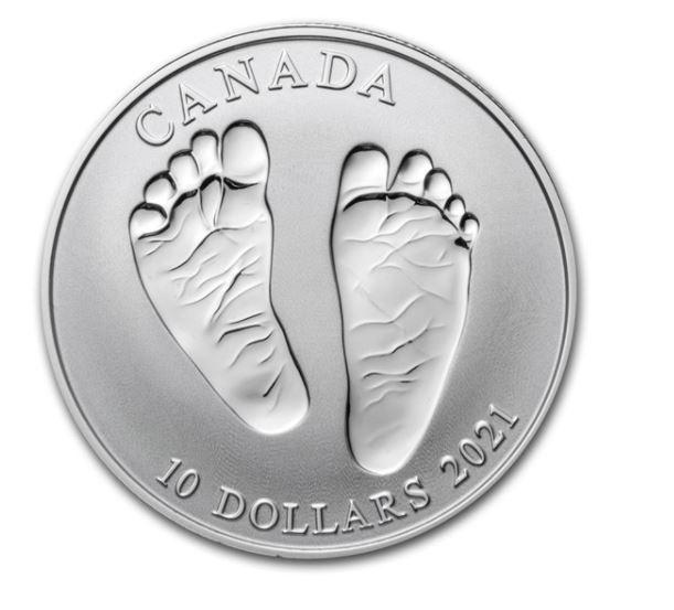 Stříbrná mince - Vítej na světě 1/2 oz