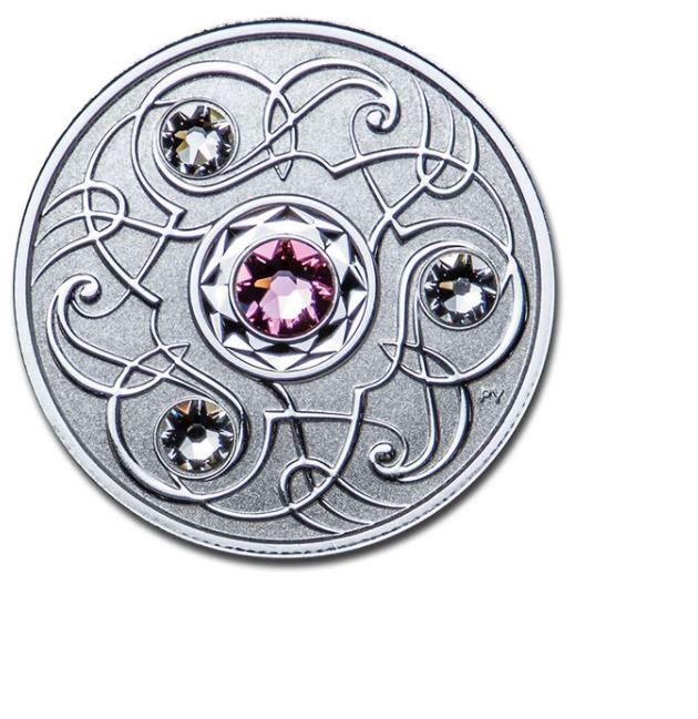 Stříbrná mince Birthstone říjen 1/4 oz