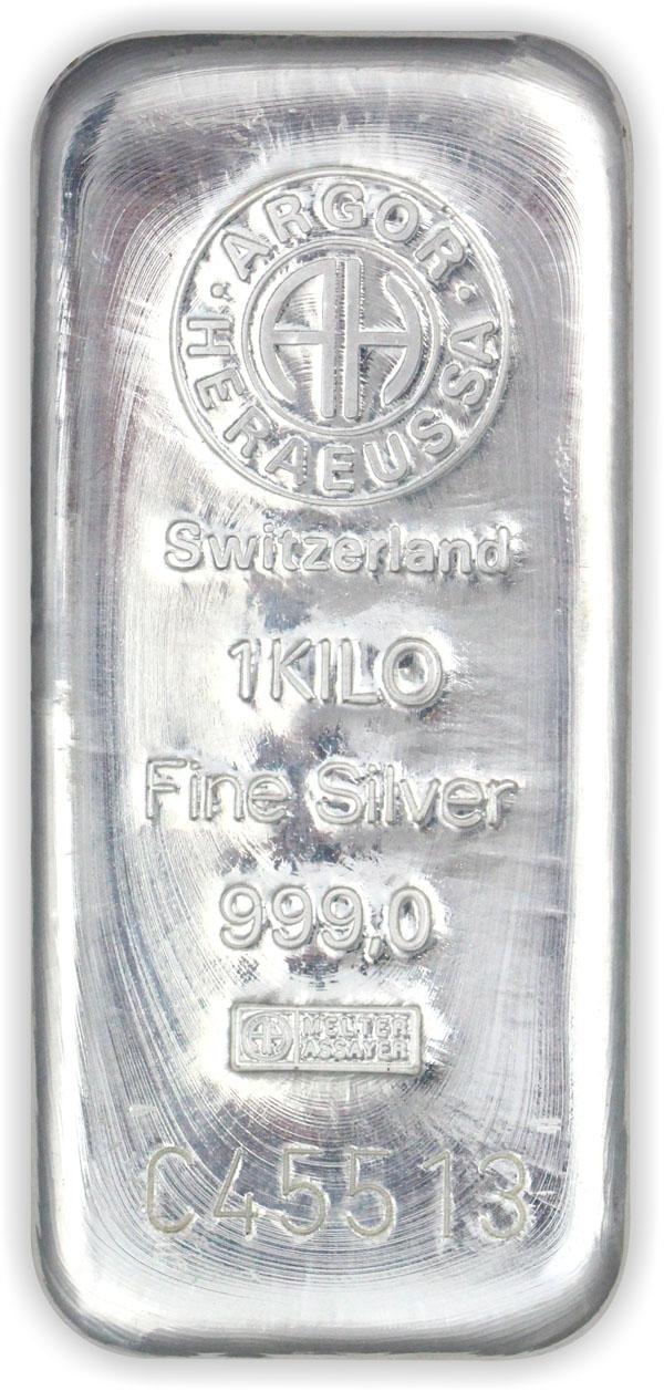 Stříbrný slitek 1000 g