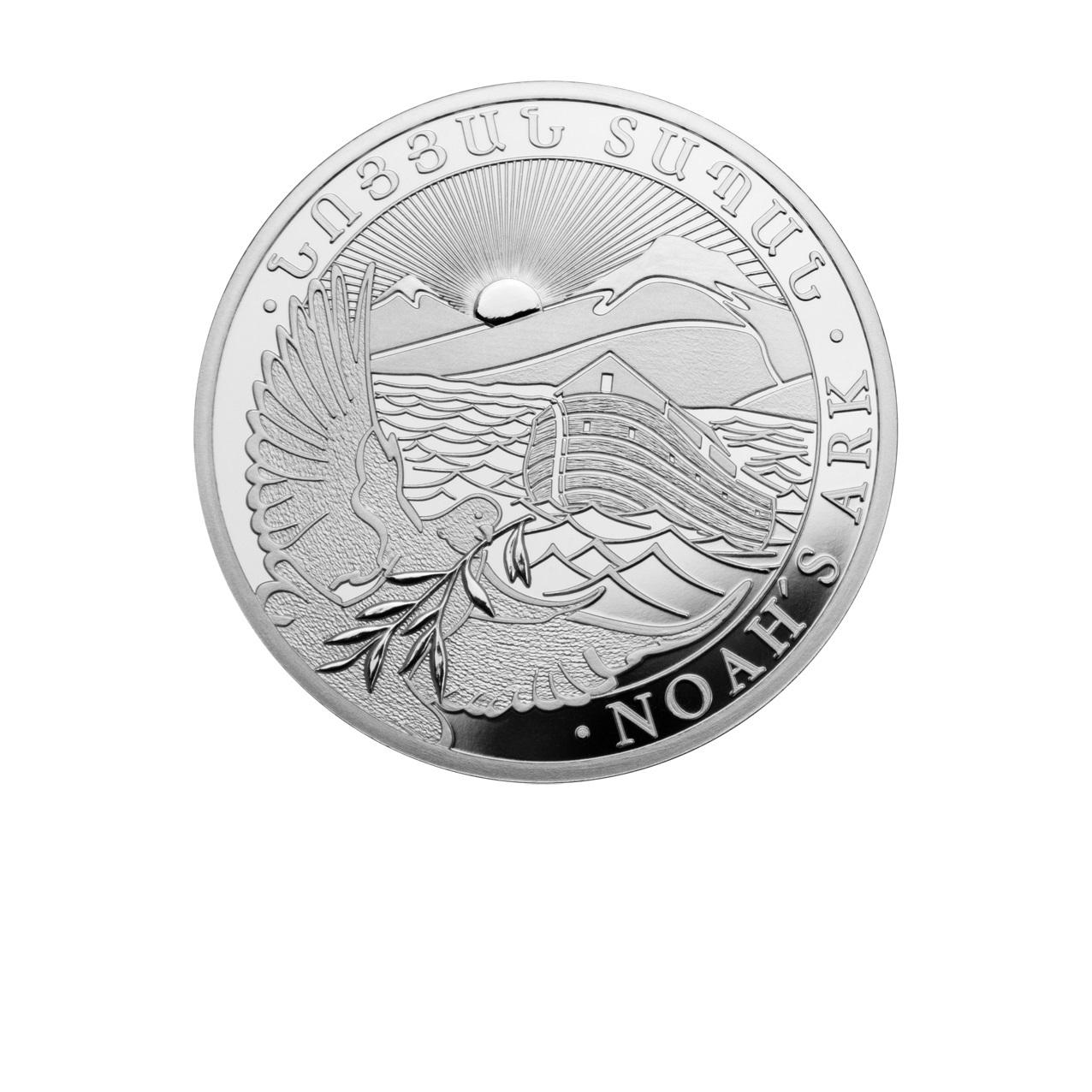 Stříbrná mince Noemova archa 1 oz